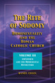 Rite of Sodomy - Vol III