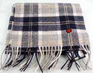 80s casuals eighties Brecon Mens 100% lambswool scarf Hunter Present