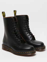 Size UK3-UK12 Dr Martens Docs 1490 z 10 eyelet Mens Air Wair Black Leather Boots