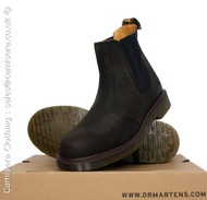 Dr Martens Mens Chelsea Dealer Boots Gaucho Oily Brown Size UK 6 7 8 9 10 11 12