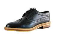 Kensington Good Year Welted All Leather American Gibson Mens Brouges Black wooden Sol
