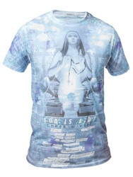 Chprt and Vrse God is a DJ Crew Neck T shirt.