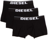Diesel Essential Cotton Stretch Boxer Trunk UMBX Kory 3 Pack Black Authentic FREE Delivery