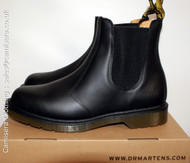 Dr Martens 8250 CLASSIC Chelsea Black Leather Industrial Boots