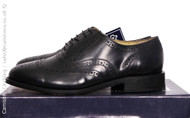 Kensington Brogues Black Leather Goodyear Welted Soles