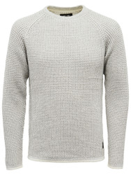 Only & Sons Jumper Gatlin Rib Chain Knit Mens Jumper in Grey