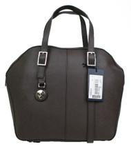 Armani AJ Jeans Ladies B5213 U8 Brown Leather 2 handle zip Handbag Brown