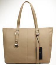 Armani AJ Jeans Large Ladies Shoulder B521C U8 Beige Bag