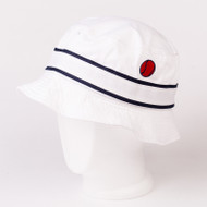 Ellesse x 80s Casuals collaboration Bucket Hat Limited edition Festival White