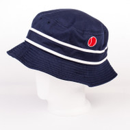 Ellesse x 80s Casuals collaboration Bucket Hat Limited edition Festival Navy