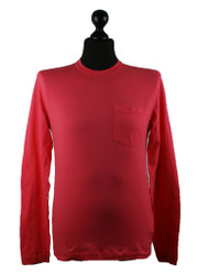 Stone island Long Sleeved Cotton T Shirt in Pink 601522757 v0087