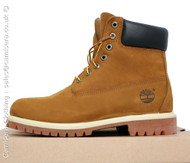 Timberland 6' Premium 72066 Rust Orange Mens Leather Boots