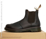 Dr Martens 8250 Gaucho Crazy Horse CLASSIC Chelsea Brown Oily Leather Mens Boots