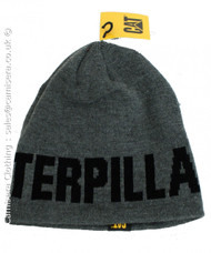 Caterpillar Unisex Logo Beanie Hat One Size CAT 1128043 in Grey