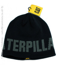 Caterpillar Unisex Logo Beanie Hat One Size CAT 1128043 in Navy