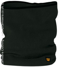 Caterpillar Unisex Neck Warmer Snood Thermal One Size CAT Black