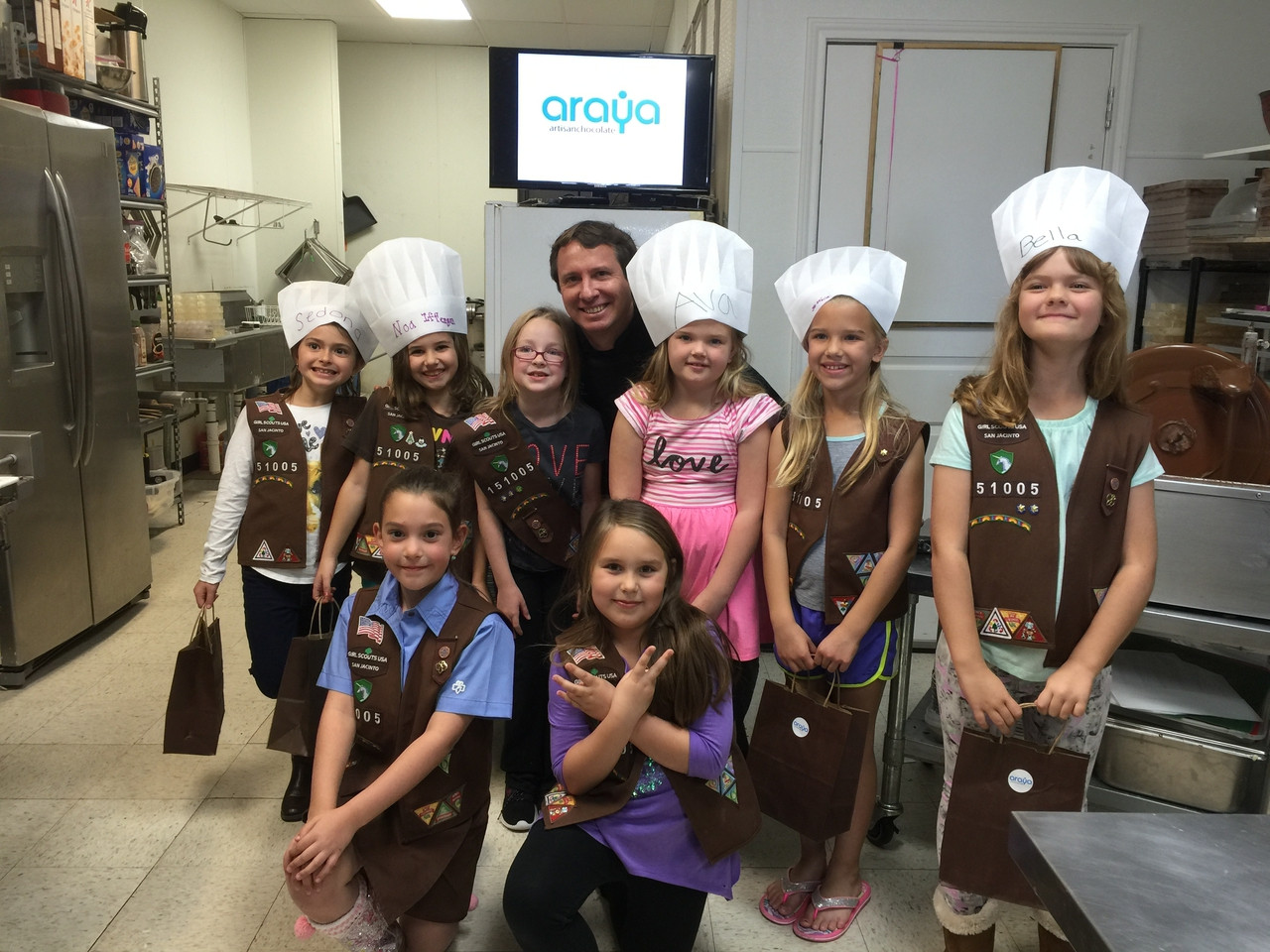 Chocolate Bar Making Class. March 15th, 2017