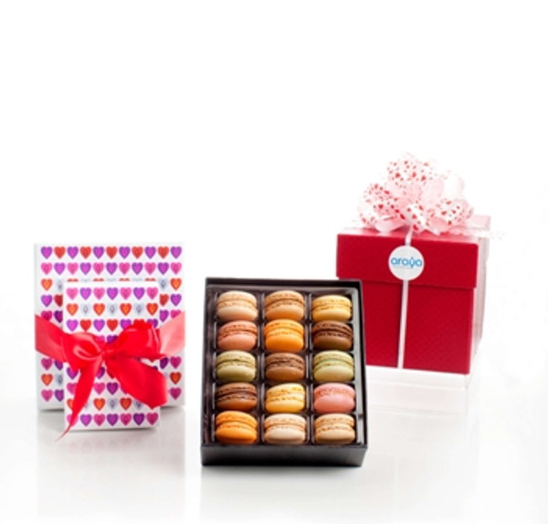 French Macarons Gift Boxes