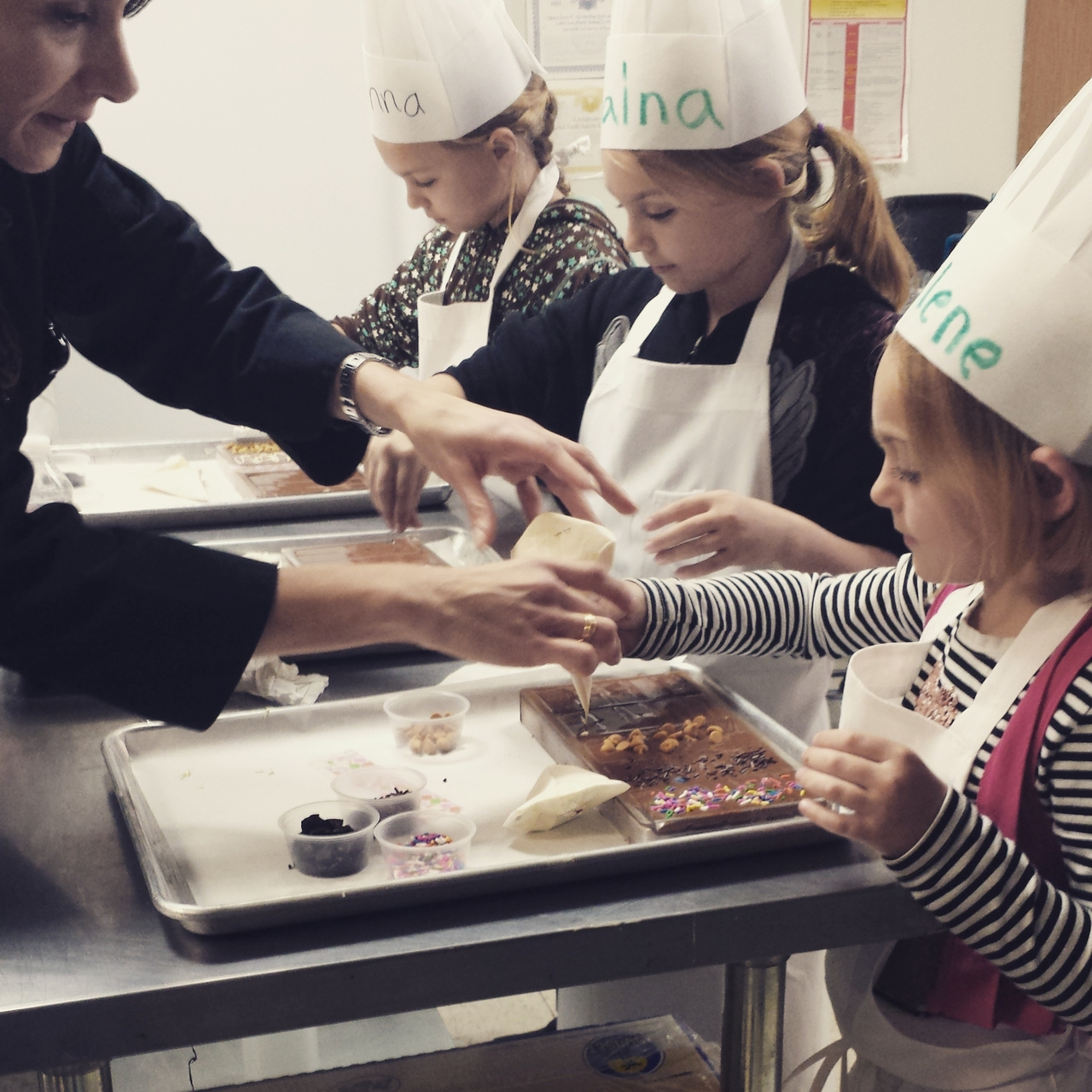 Araya Artisan Chocolate – Kids Chocolate Class. Gourmet Artisan ...