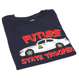 Future Trooper Blue Charger T-Shirt