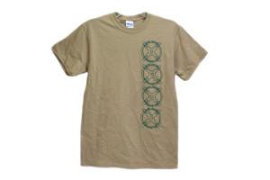 AGP Arms T Shirt Tan