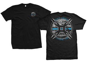 AGP Arms Blue Line T Shirt