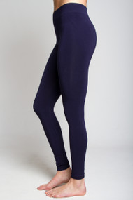 C'est Moi Bamboo Leggings in Navy