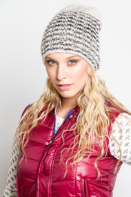 V.Fraas Slouchy Toque in White