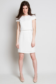 Angel Eye Iris Dress in Cream