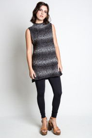 Kersh Sweater Tunic in Black