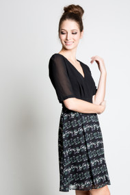 Angel Eye Maribella Dress in Black