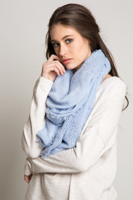 Jackson Rowe Olive Scarf in Blue
