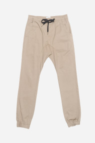KuwallaTee Chino Jogger in Taupe