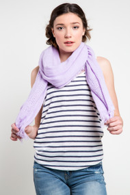 Jackson Rowe Olive Scarf in Mauve