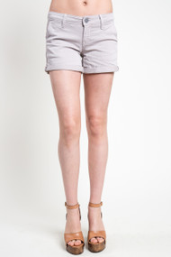Mavi Vienna Short in Silver Mink Twill