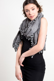 Jackson Rowe Cultus Scarf in Denim