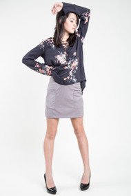 Gentle Fawn Jethro Skirt in Opal Grey