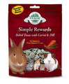Oxbow Simple Rewards Baked Treats with Carrot & Dill 2 oz