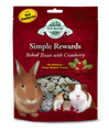 Oxbow Simple Rewards Baked Treats with Cranberry 2.0 oz