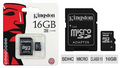 16 Gig Micro SD Card (Class 10) Kingston