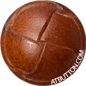 Hand Woven Genuine Leather Button Style #135