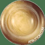 Brown & Beige Plastic Shank Button Style#106