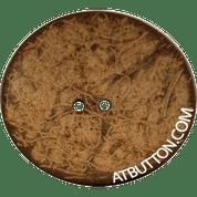 Genuine Natural Coconut Button Style#191