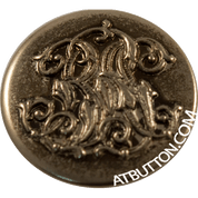 Nickle Metal Button Style#199