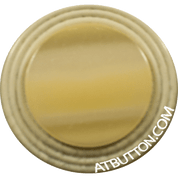 Beige with White Borders Plastic Button Style#226