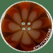 Four Hole Orange Combo Button Style #319