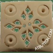 Elegant Square Button Style #328