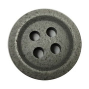 Four Hole Shimmer Silver Button #357