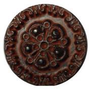 Red Bronze Engraved Design #361