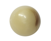 Round Cream and Coffee Shank Button #395